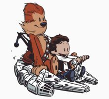 Chewie And Han Kids Tee