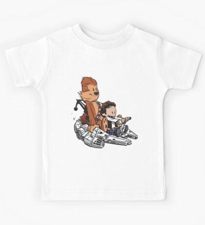 Chewie And Han Kids Tee
