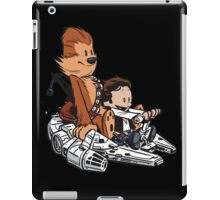 Chewie And Han iPad Case/Skin