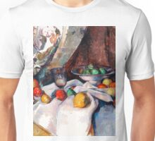 1898 - Paul Cezanne - Still Life with Apples Unisex T-Shirt