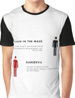 Daredevil Costumes Graphic T-Shirt