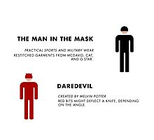 Daredevil Costumes Photographic Print