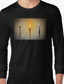 three mathes Long Sleeve T-Shirt