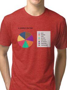 A World On Fire Tri-blend T-Shirt