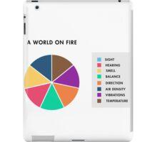 A World On Fire iPad Case/Skin