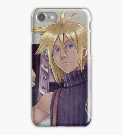 Final Fantasy VII - Cloud Strife Tribute iPhone Case/Skin