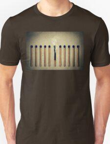 single burnt Unisex T-Shirt