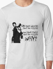 Daryl-How Many WHY Long Sleeve T-Shirt