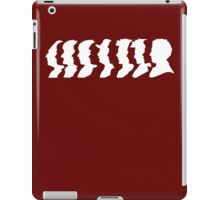 Doctor Who Regeneration all 12 doctors iPad Case/Skin