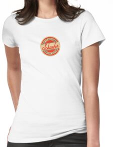 coasters vintage Womens Fitted T-Shirt