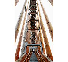 Ladder to the sky Photographic Print