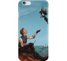 Ester on the Rooftop iPhone Case/Skin