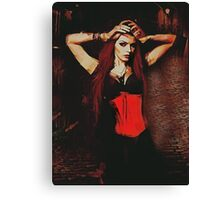 Vampire Compelled Canvas Print