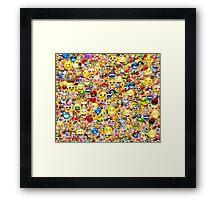 emoji Framed Print