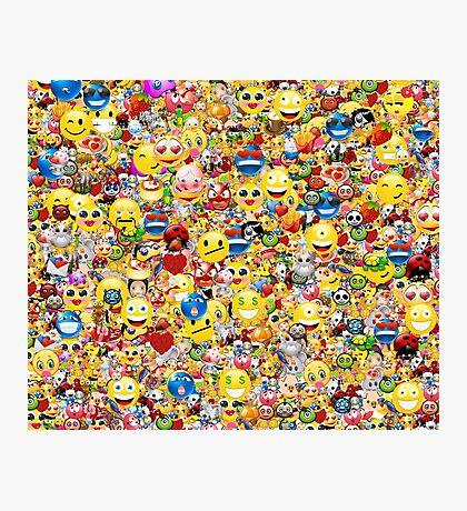 emoji Photographic Print