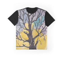 A bird with a song  on a branch of me Graphic T-Shirt