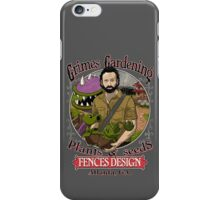 Grimes Gardening. iPhone Case/Skin