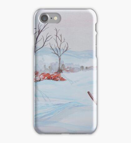 Winter scene iPhone Case/Skin