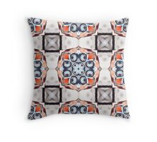 Automobile Headlights Pattern Throw Pillow