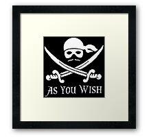 Princess Bride - Dread Pirate Roberts Framed Print