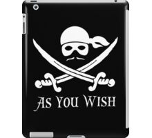 Princess Bride - Dread Pirate Roberts iPad Case/Skin