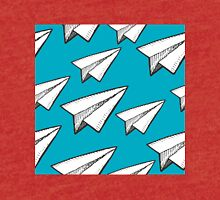 paper planes pattern Tri-blend T-Shirt