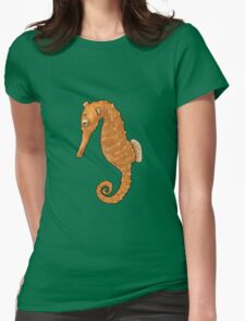 SEAHORSE Womens Fitted T-Shirt
