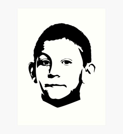 Dewey Malcolm in The Middle Art Print