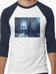 Haunted Interior and Ghost 2 Men's Baseball ¾ T-Shirt