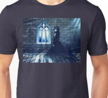 Haunted Interior and Ghost 2 Unisex T-Shirt