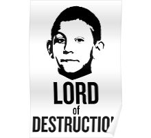 Dewey Malcolm in The Middle Lord of Destruction Poster