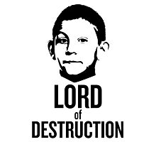 Dewey Malcolm in The Middle Lord of Destruction Photographic Print
