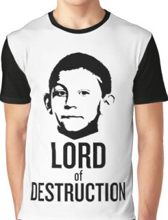 Dewey Malcolm in The Middle Lord of Destruction Graphic T-Shirt