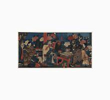 Kuniyoshi Utagawa - Dr Huatuo Attending to Warrior Guanyu - 1853 - Woodcut Unisex T-Shirt