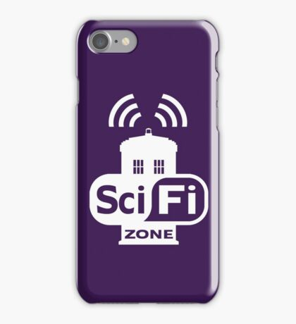 Sci-Fi ZONE White iPhone Case/Skin