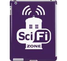 Sci-Fi ZONE White iPad Case/Skin