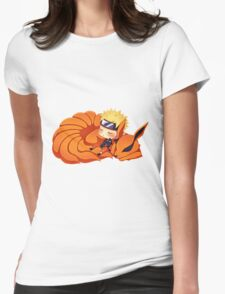 narutoandninetail Womens Fitted T-Shirt