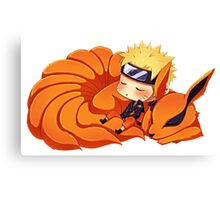 narutoandninetail Canvas Print
