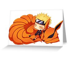 narutoandninetail Greeting Card
