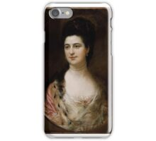 Mrs. Thomas Mathews, Thomas Gainsborough iPhone Case/Skin
