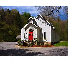 Little Church In the Country Photographic Print