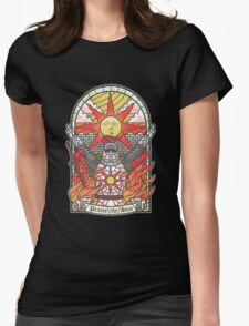 Church of the Sun Womens Fitted T-Shirt