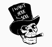 Skull - I want your soul Unisex T-Shirt