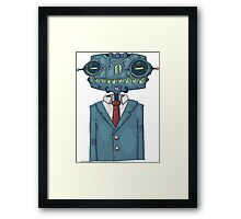 Robot Stylish Framed Print