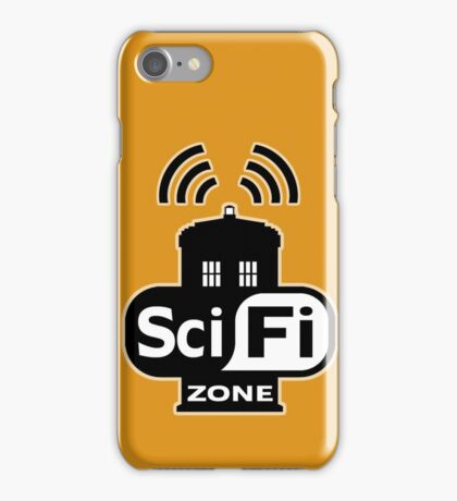 Sci-Fi Zone 2 iPhone Case/Skin