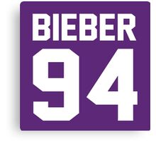 Justin Bieber 94 Canvas Print