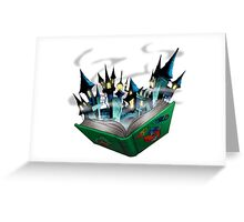 Toon - World Greeting Card