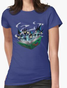 Toon - World Womens Fitted T-Shirt