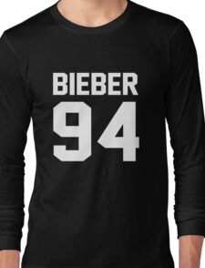 Justin Bieber 94 Long Sleeve T-Shirt