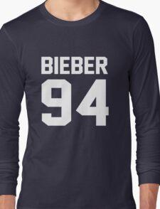 Justin Bieber 94 Long Sleeve T-Shirt